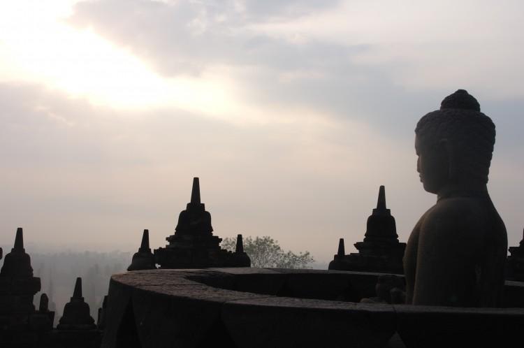 Borobudur sunrise3