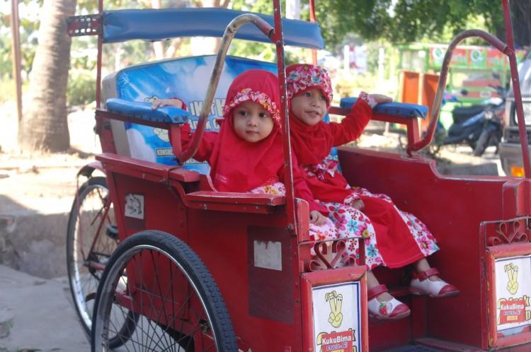 Betjak in Makassar