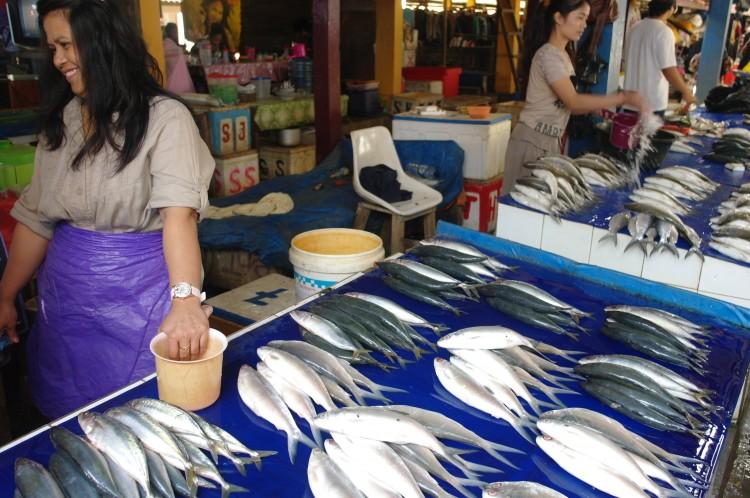 Pasar Ikan (vismarkt)
